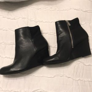 Michael Kors wedge heel booties size 9